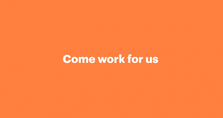 Come work for us