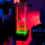 SERS (surface enhanced Raman scattering), a spectroscopic imaging technique which uses DNA probes adsorbed onto silver nanoparticles to detect and quantify a range of specific pathogens in a given sample - allowing more targeted treatment of infection.